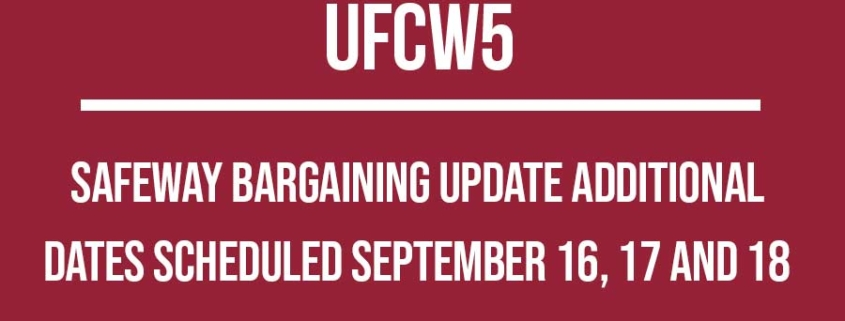 Negotiation Updates Archives - UFCW5